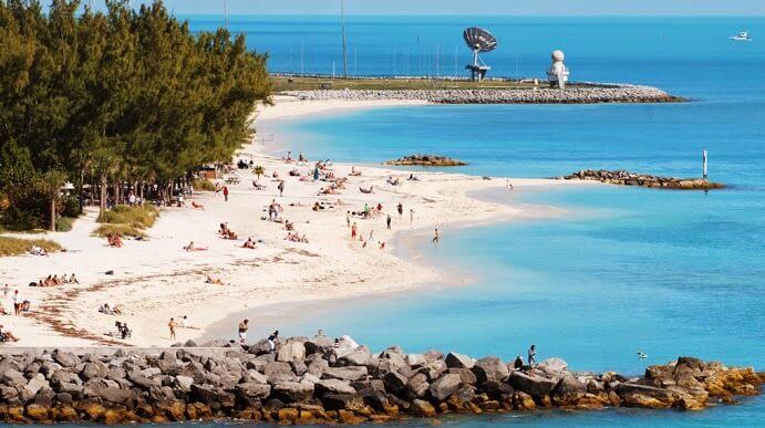 Higg's Beach Praias Key West