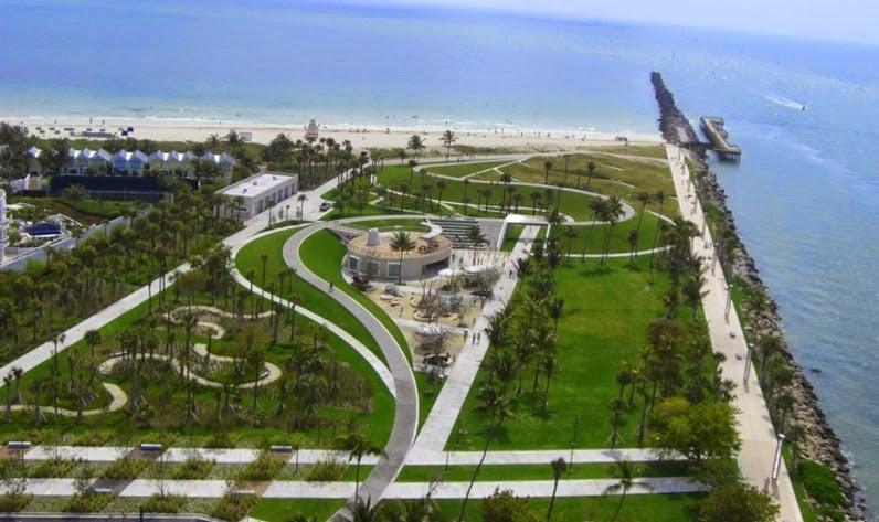 South Pointe Park em Miami