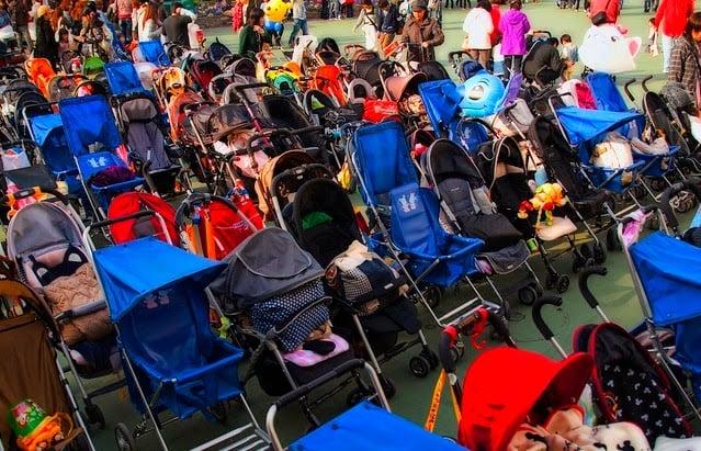 Carrinho de bebe Parques de Orlando