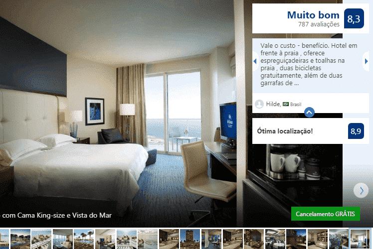 Hilton Fort Lauderdale Beach Resort: quarto