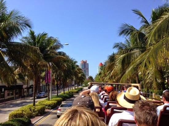 Ônibus turístico Hop On Hop Off em Miami