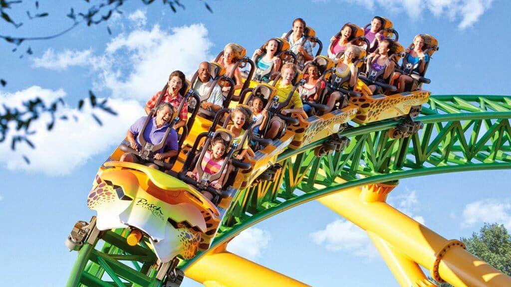 Parque Busch Gardens Tampa Orlando