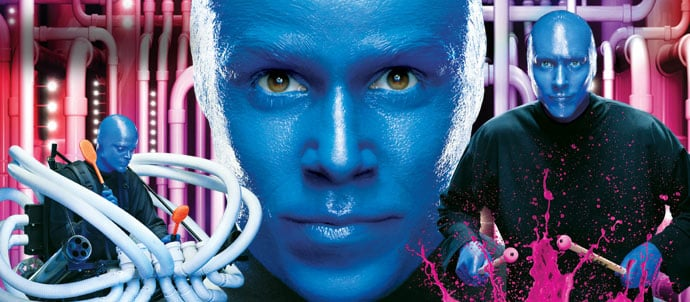 Blue Man Group em Orlando