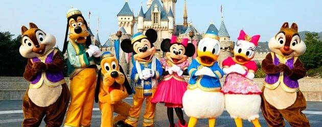 Personagens Memory Maker na Disney