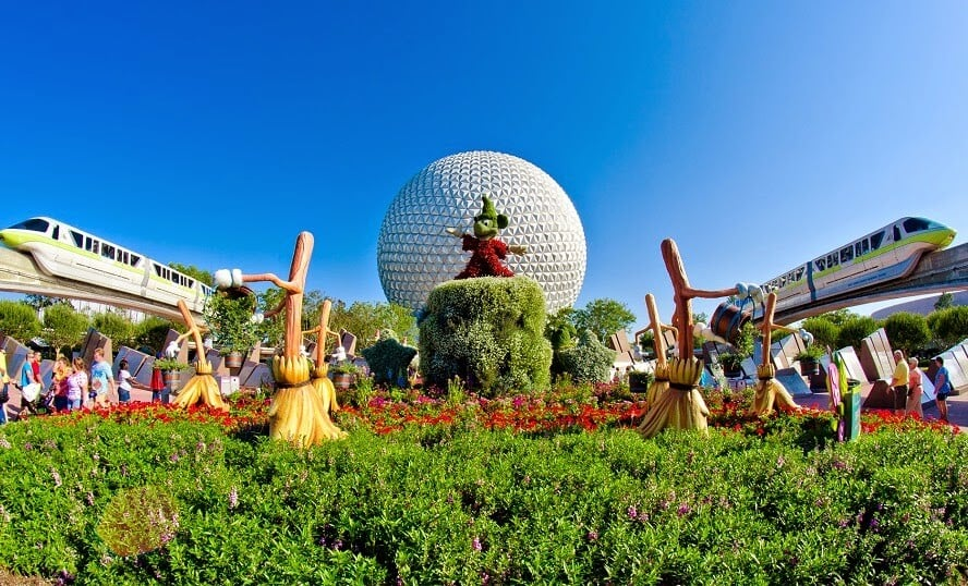 Parque Epcot Center Disney em Orlando