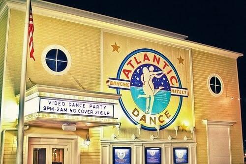 Casa noturna Atlantic Dance Hall na Disney em Orlando