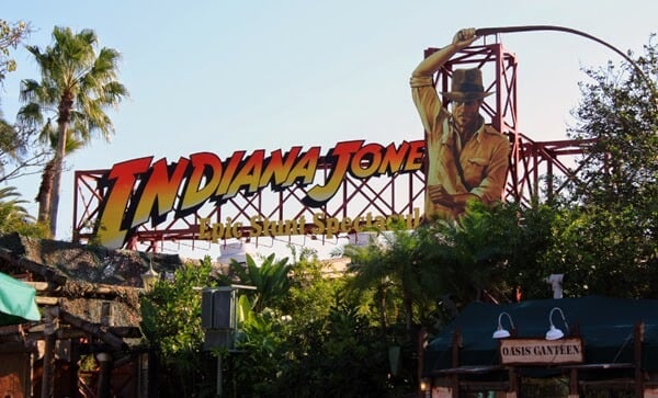 Show Indiana Jones no Disney Holywood Studios