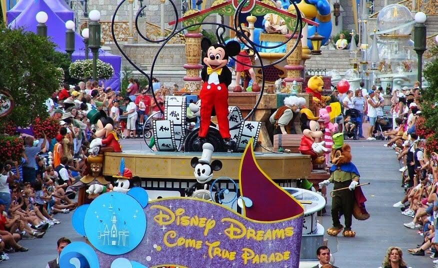 Parque Disney Magic Kingdom en Orlando