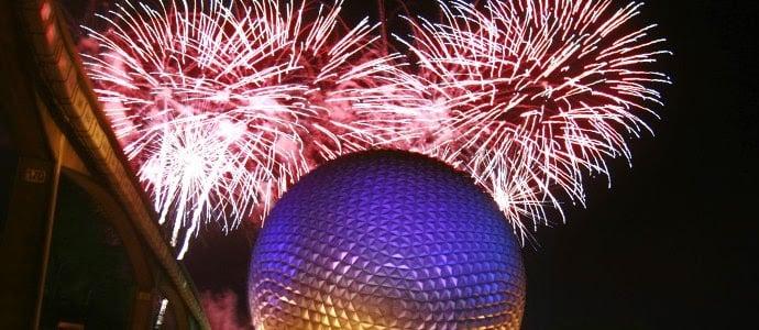 Réveillon e ano novo no Epcot Disney