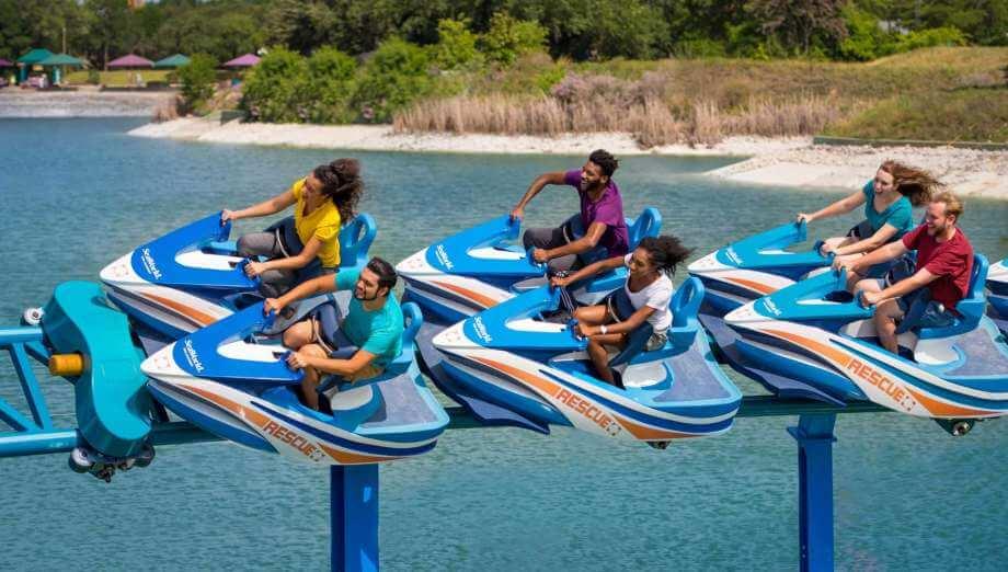 Atração no SeaWorld Orlando