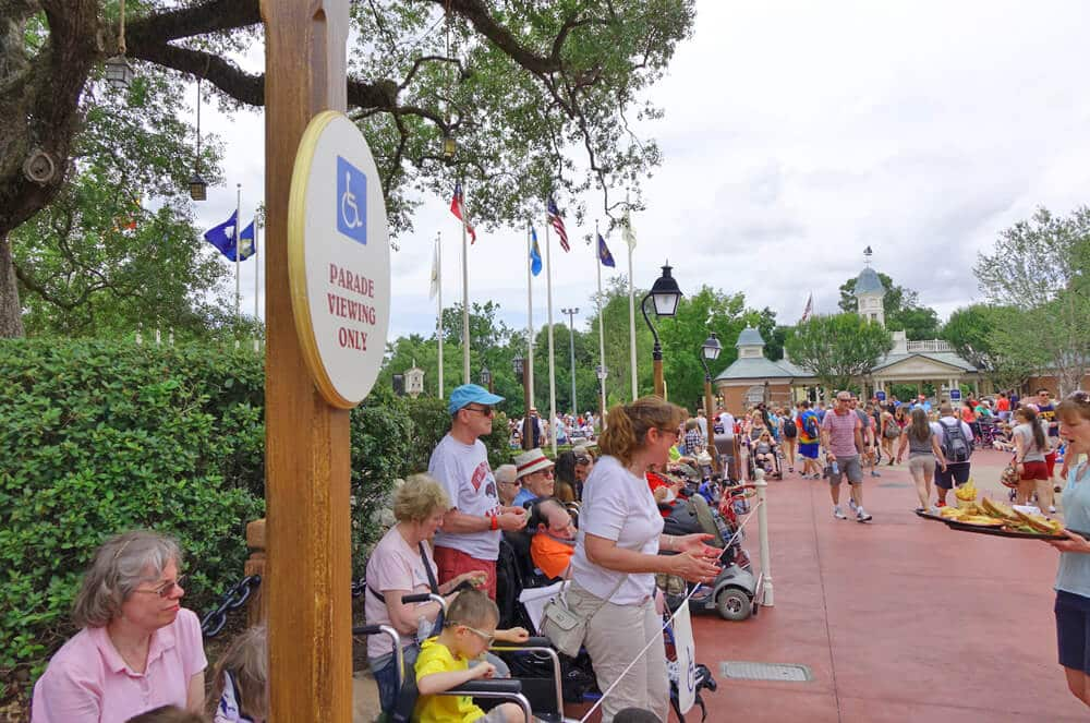 Tratamento na Universal e outros parques:cadeirantes