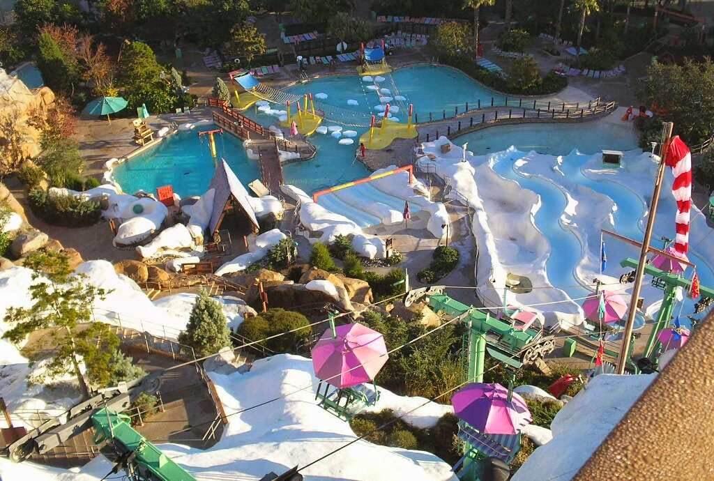 Parque aquático Blizzard Beach da Disney em Orlando