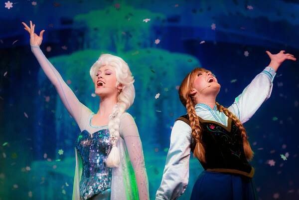 Frozen no Disney's Hollywood Studios