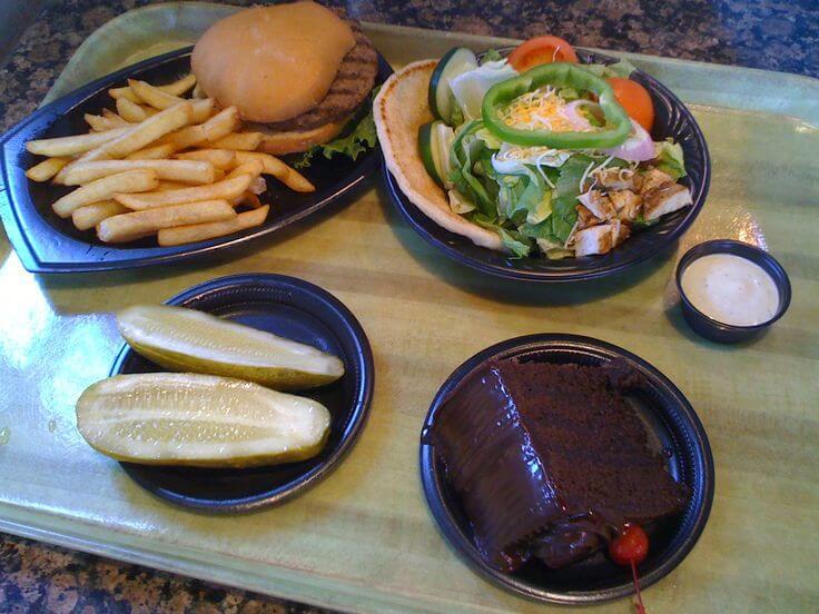 Refeições do Restaurante Spice Mill no Seaworld em Orlando