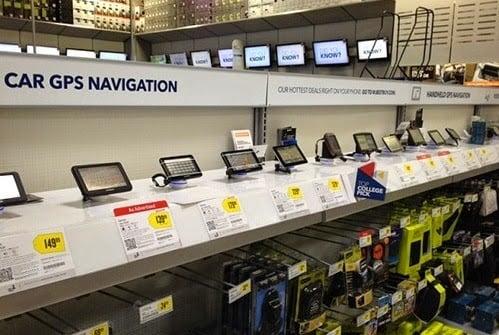 Lojas que vendem GPS