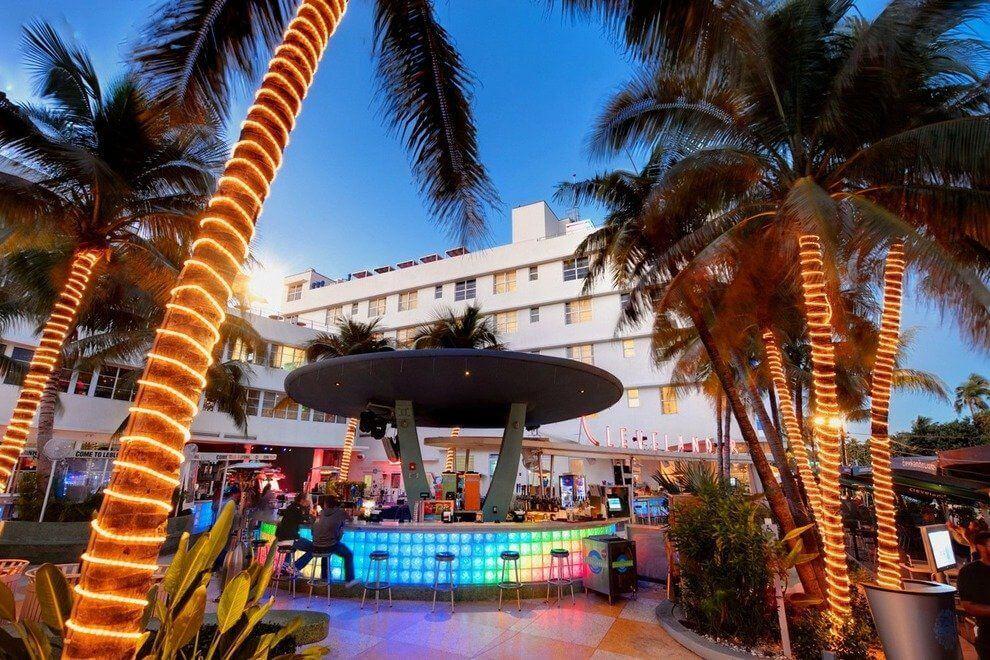 Bar Clevelander em Miami