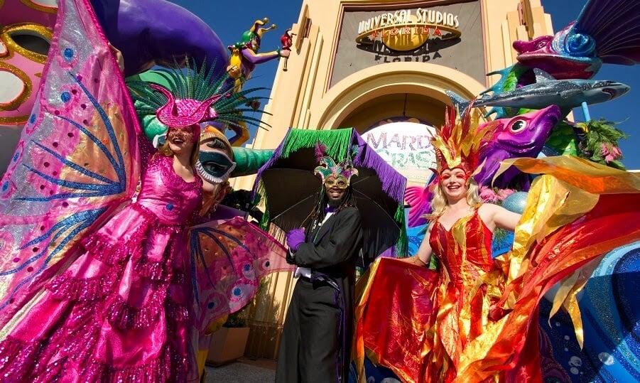 Mardi Gras na Universal em Orlando