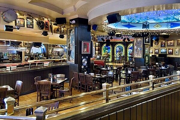 Interior do Hard Rock Cafe em Miami