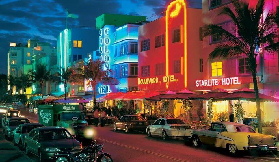 Lua de mel em Miami | Ocean Drive