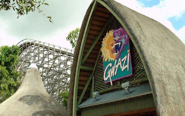 Fechamento da Montanha Russa Gwazi do Parque Busch Gardens em Tampa