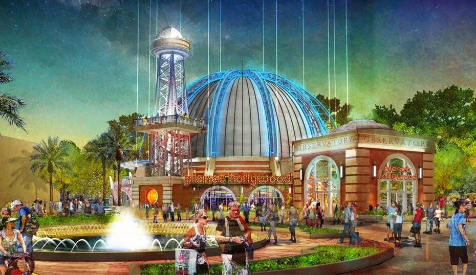 Novo restaurante Planet Hollywood em Orlando