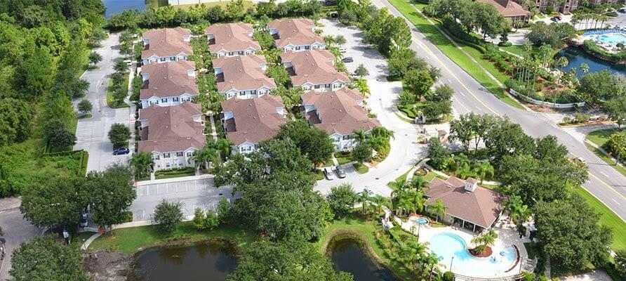 Vista aérea Lucaya Village Resort