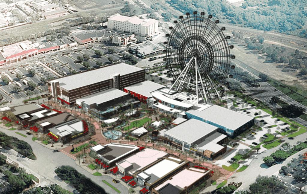 Complexo I-Drive Live 360 Orlando - Roda Gigante