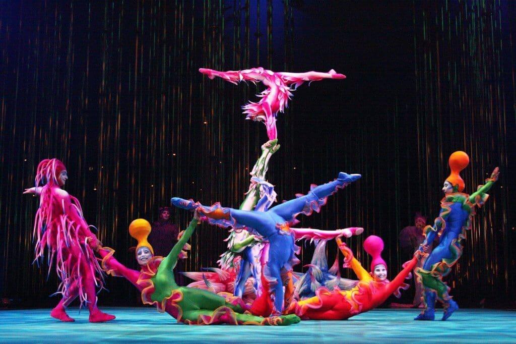 Apresentação Varekai do Cirque du Soleil