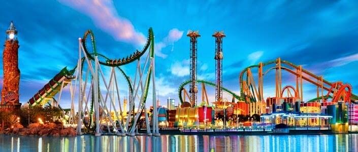 Parque Universal em Orlando