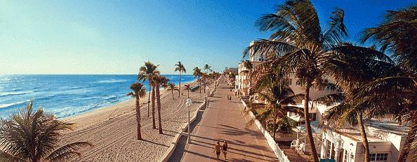 Praia de Fort Launderdale