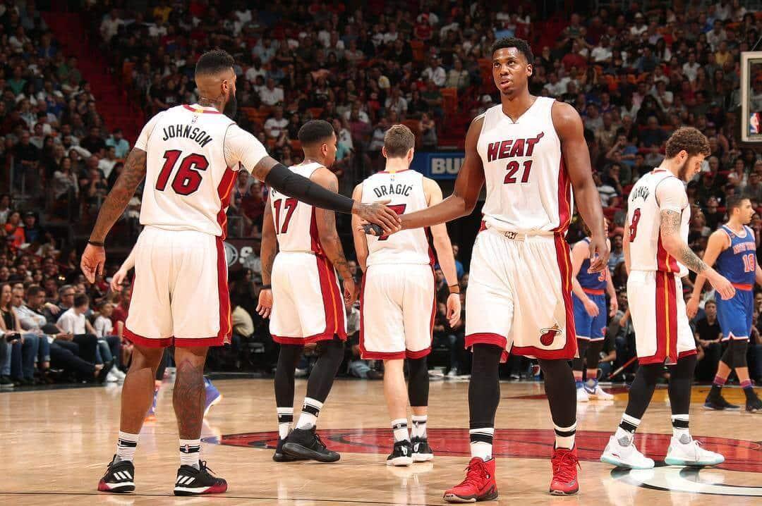 Assistir um jogo de basquete do Miami Heat