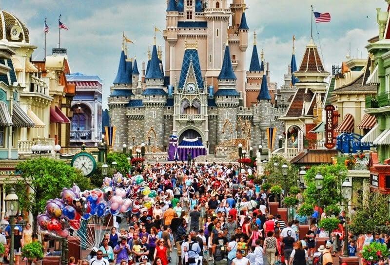 Magic Kingdom - Orlando em Junho