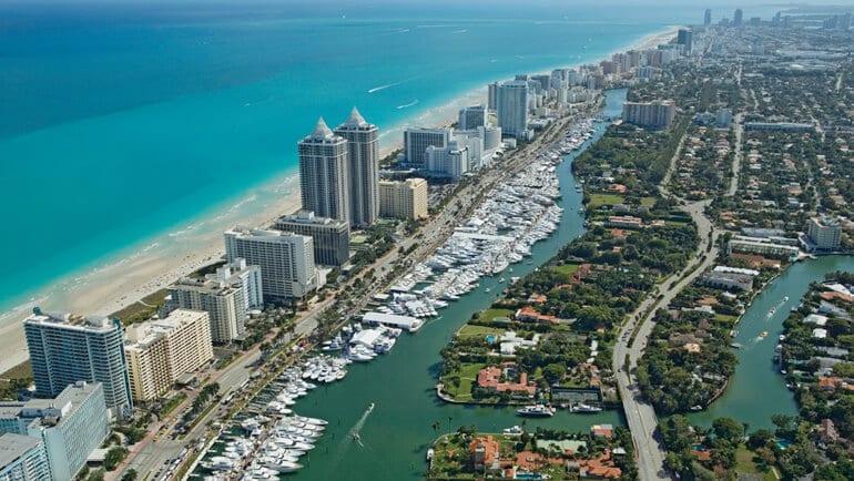 Passagens para Miami e Fort Lauderdale saindo de São Paulo por 1163 reais