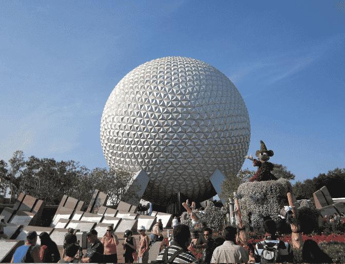 Parque Epcot em Orlando