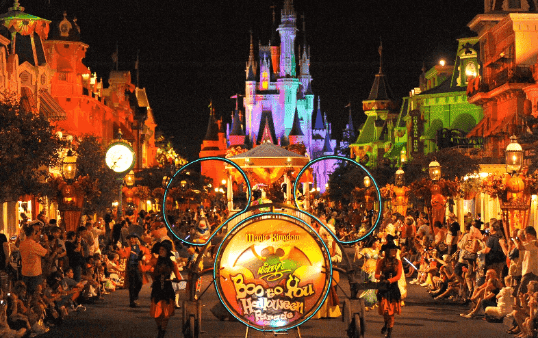 Festas de Halloween nos parques Disney em Orlando
