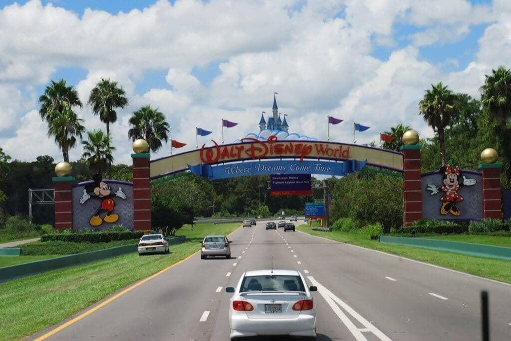 Entrada da Disney em Orlando