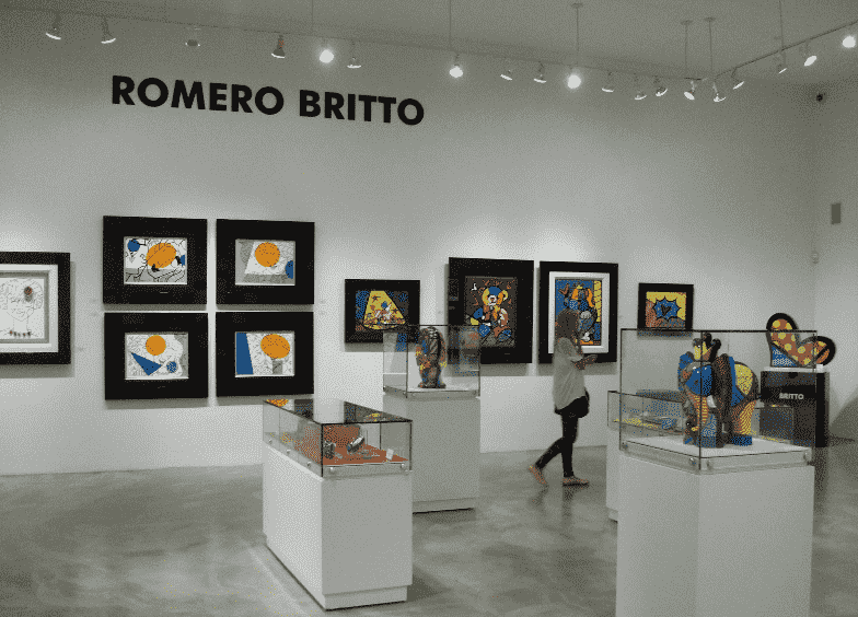 Britto Central Art Miami