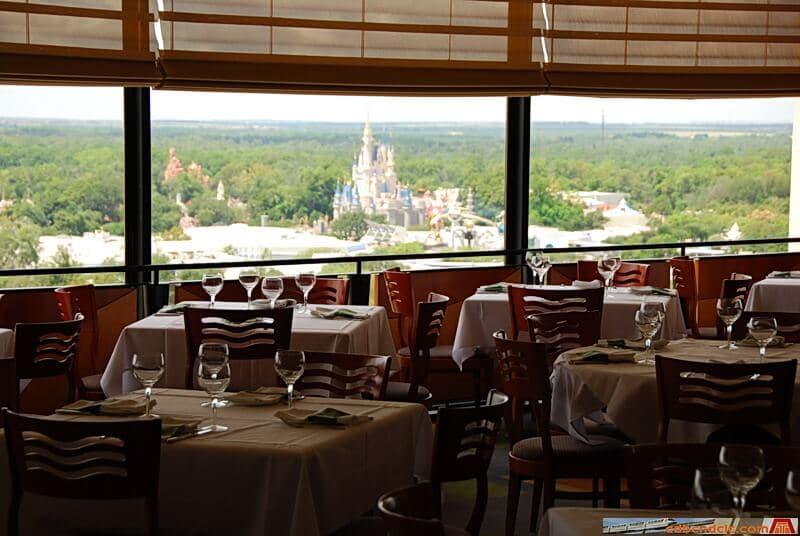 Restaurante California Grill no Contemporary Resort
