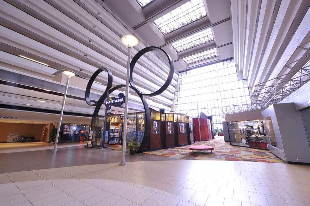 Hall do Hotel Disney's Contemporary Resort em Orlando