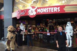 Entrada da Loja Gods and Monsters em Orlando