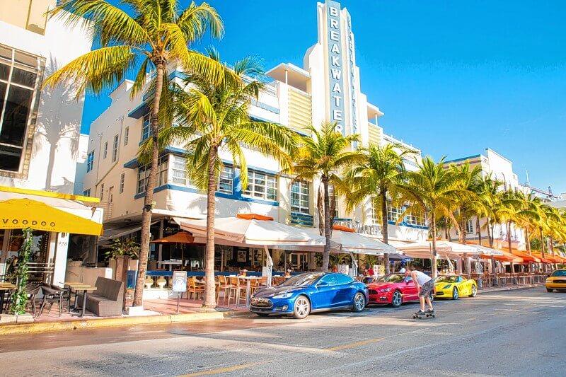 Clima de Miami em fevereiro