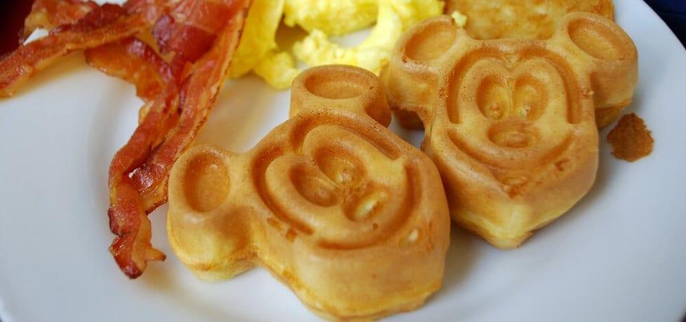 Waffles do Mickey