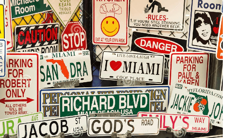 souvenirs em Miami