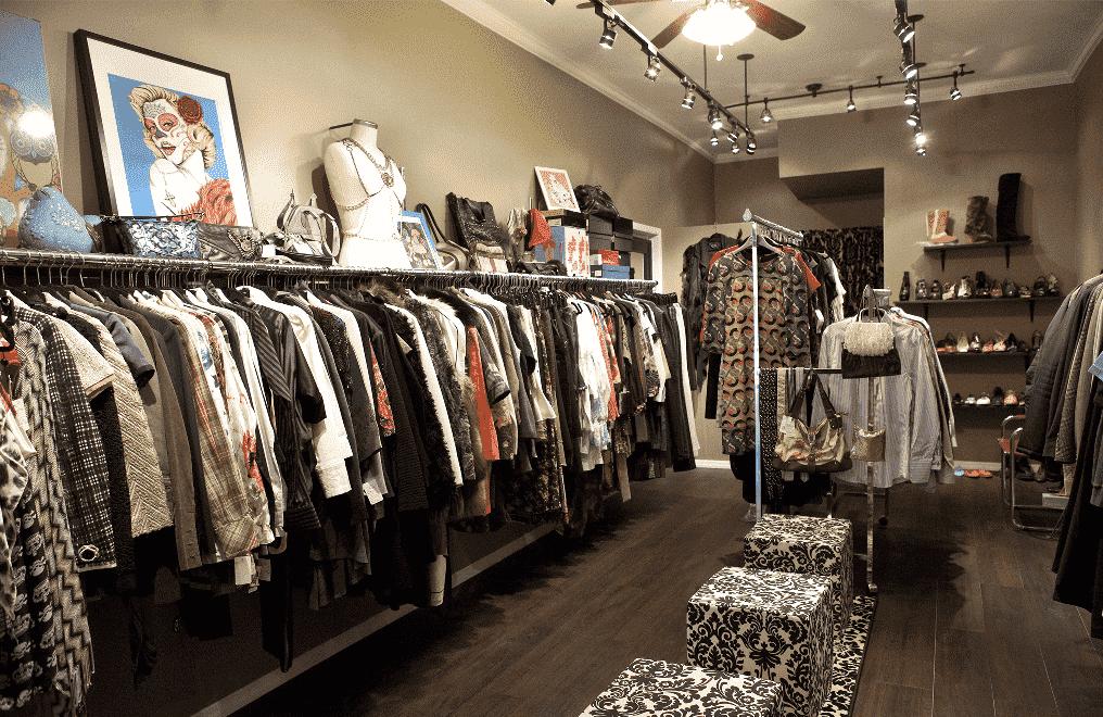 Loja de roupas em Orlando