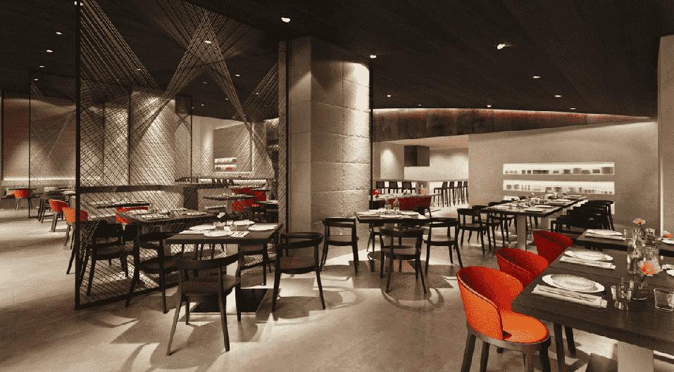 Interior do Capa Steakhouse em Orlando
