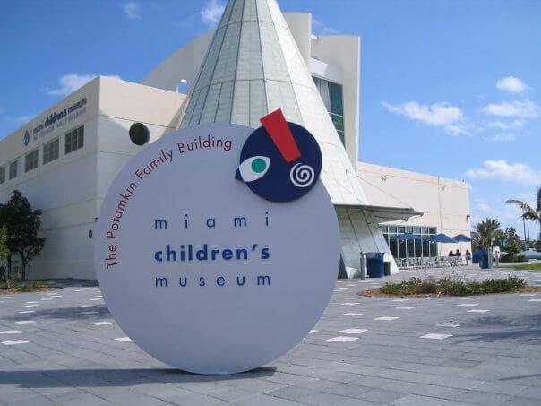 Museu das Crianças em Miami - entrada