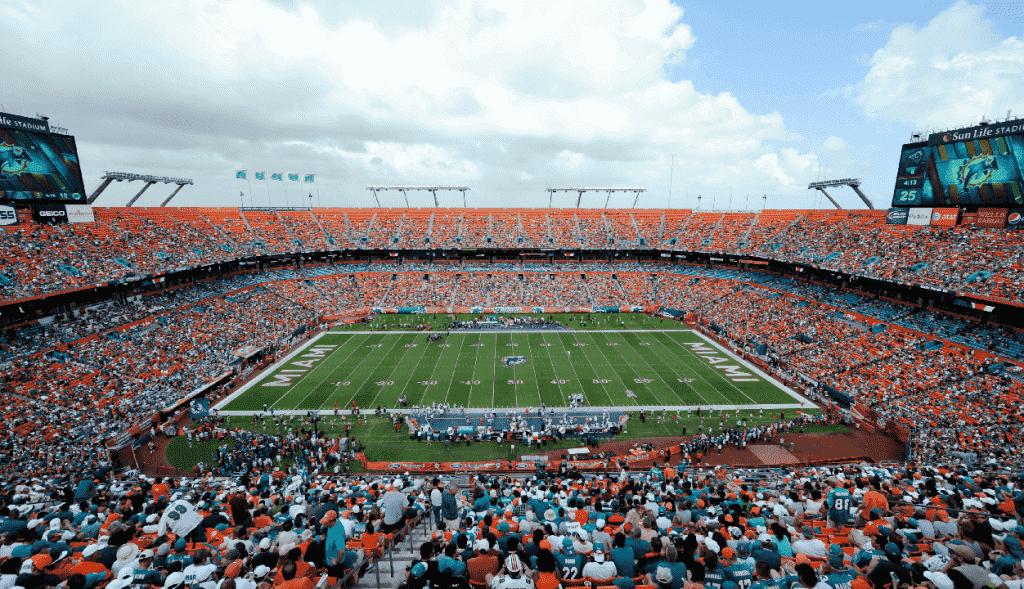 Arena de jogos em Miami