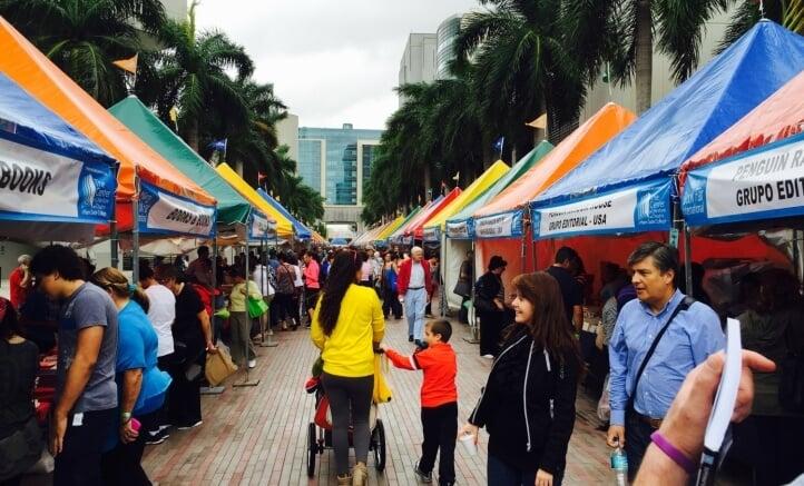 Feria Internacional del Libro en Miami