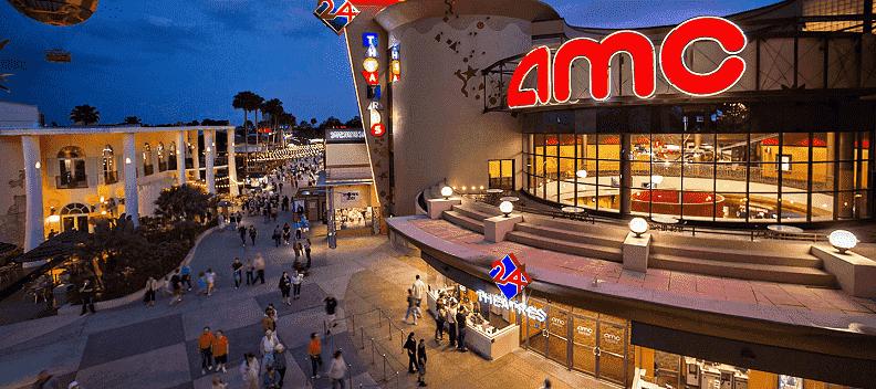 Cinema AMC na Disney Springs em Orlando