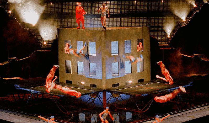 Show do Circo Du Soleil em Orlando